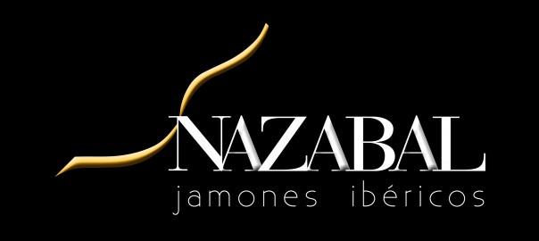 Logo NAZABAL IBÉRICOS fondo negro